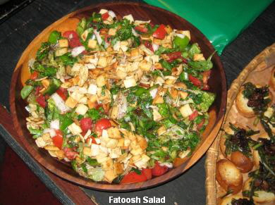 Fatoosh Salad