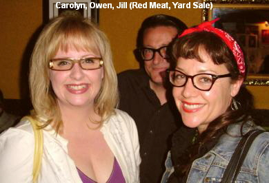 Carolyn, Owen, Jill (Red Meat, Yard Sale)