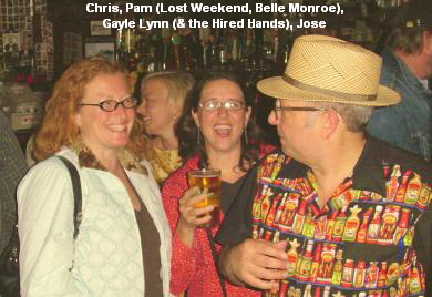 Chris, Pam (Lost Weekend, Belle Monroe),