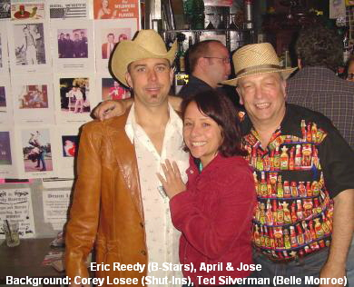 Eric Reedy (B-Stars), April & Jose
