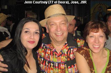Jenn Courtney (77 el Deora), Jose, J9R