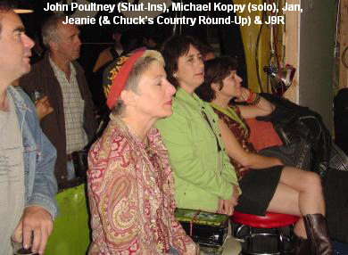 John Poultney (Shut-Ins), Michael Koppy (solo), Jan,