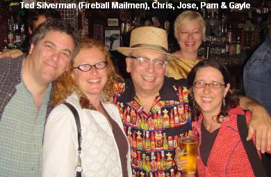 Ted Silverman (Fireball Mailmen), Chris, Jose, Pam & Gayle