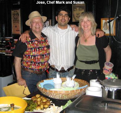 Jose, Chef Mark and Susan