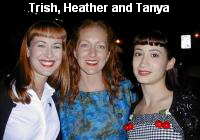 Trish, Heather and Tanya
