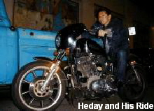 Heday and His Ride