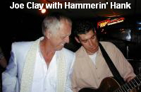 Joe Clay with Hammerin' Hank