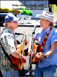 Pete Olson (right) with