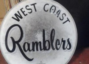 West Coast Ramblers Drum Head