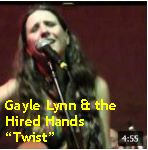 Video - Gayle Lynn &t Hired Hands - Twist @ Hotel Utah, SF txt