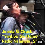 Video - Jeanie & Chuck's Country Roundup - Yankee Go Home @ Radio Valencia, SF txt