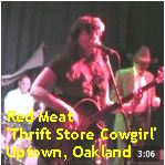 Video - Red Meat - Thrift Store Cowgirl @ Starry Plough, Berk txt