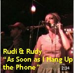 Video - Rudi & Rudy - As Soon as I Hang Up the Phone @ Amnesia, SF txt