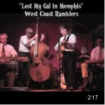 West Coast Ramblers - Lost My Gal in Memphis