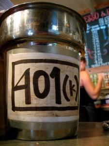 Tip Jar 401K