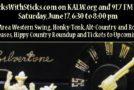 Hicks with Sticks Brings SFBA Americana to KALW 6/17